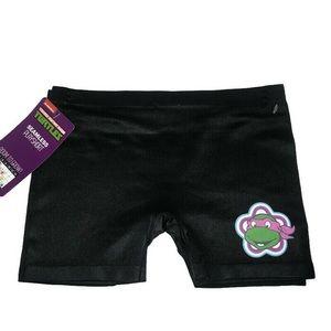Girls 2pk TMNT stretchy play shorts Large